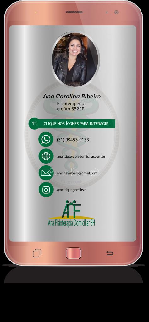 Cartão Digital Ana Ribeiro